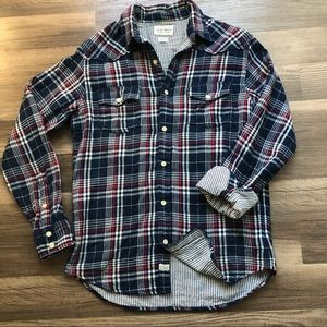 Lucky Brand Plaid Flannel button down